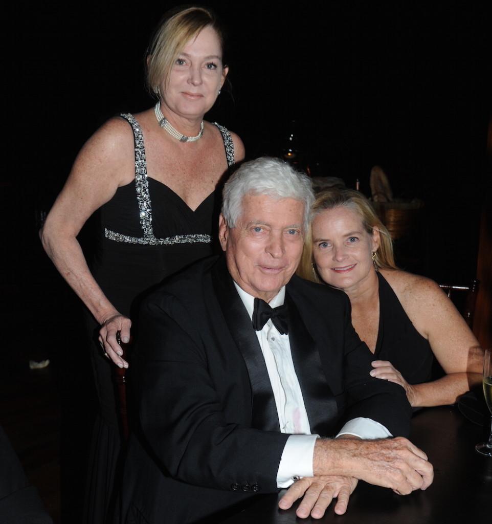 Con sus hijas Marehke y Bettina