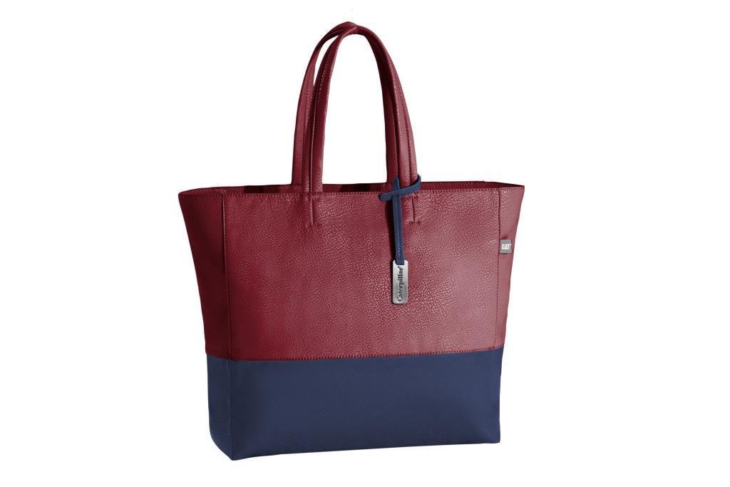 Catwalk_The Lauren Bag_PU Shopper EW Shape_Bordeaux Blue