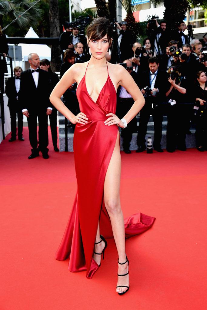 Bella Hadid, vestido de Alexander Vauthier