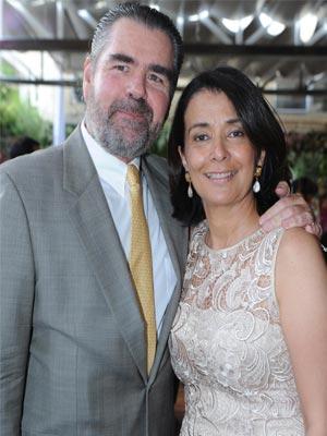 Gustavo González Velutini y María Claudia de González