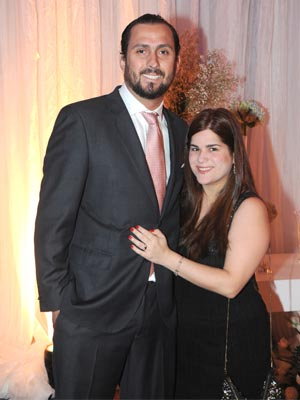 Gabriel Ignacio Viloria y Ana Mercedes Alexandre de Viloria