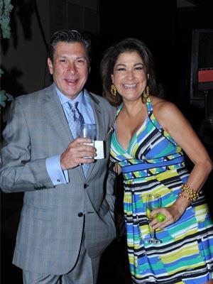 Eduardo Scannone y María Fernanda Aristiguieta