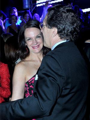 Disfrutando de la fiesta Carmen Machado y Pedro Luis la Corte