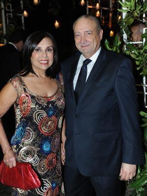 Julián Morales Stopello y Olga Salas.