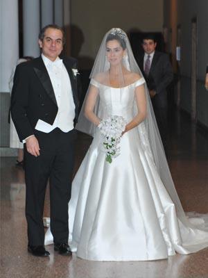 Daniel Núñez padre de la novia con su hija