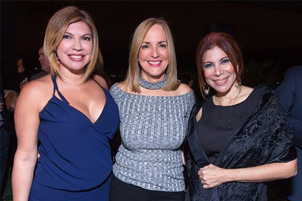 Susana Cárdenas, Linda Rincón y Ana Hernández