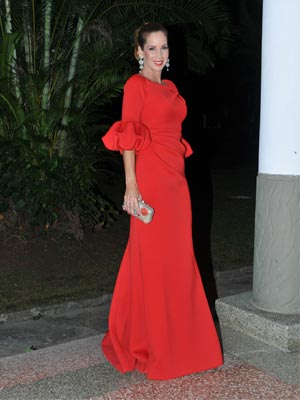 Daniela Espinosa Ruiz, madre de la novia