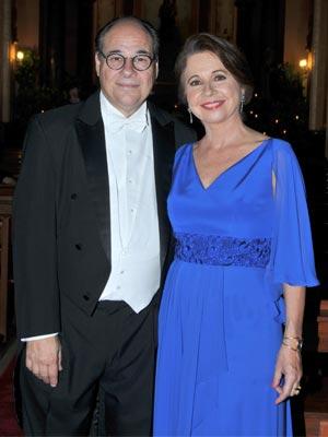 Gustavo Henrique Guinand e Irene Mckinstry de Guinand