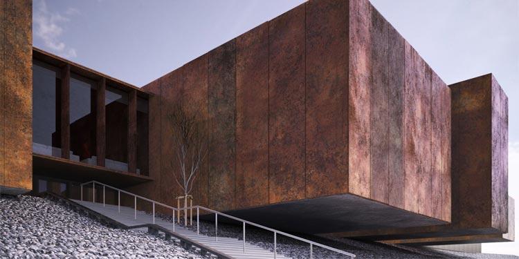 Soulages Museum (2014), Rodez, Francia