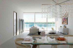 Un palacio de lujo frente a la Bahía de Biscayne